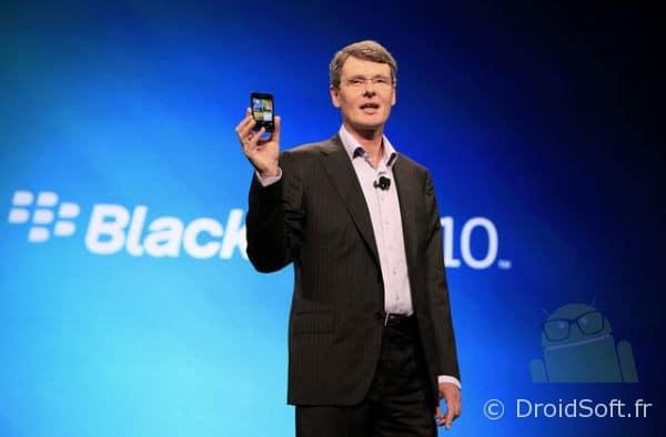blackberry 10 annonce