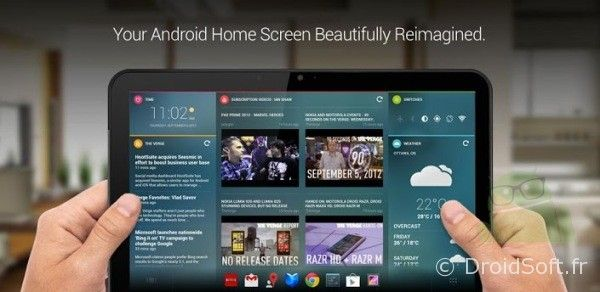 chameleon launcher android tablette