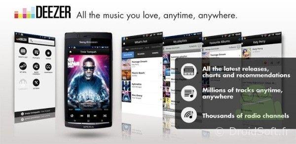 Deezer Android, Deezer annonce du changement avec notamment une API
