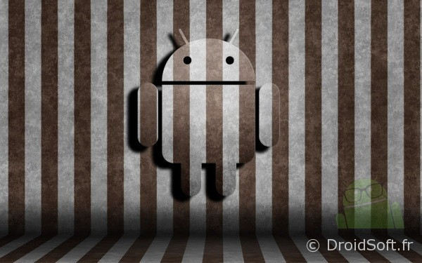 droid wall paper stripes