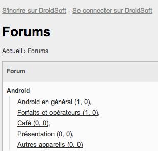 forum droidsoft