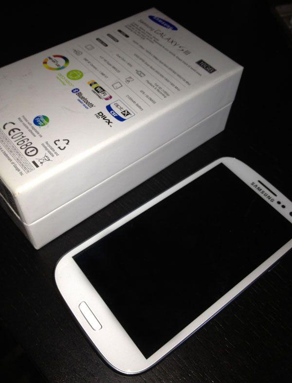 Galaxy S3, Gagnez un Galaxy S3 Blanc 16 Go !