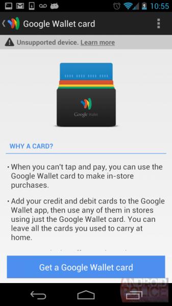 Google Wallet, Google Wallet : la carte de crédit physique !