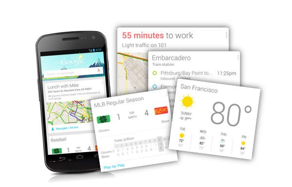 Google Now, Google Now : innovation de l'année 2012
