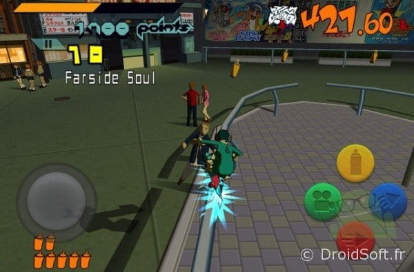 Jet Set Radio, Jet Set Radio disponible sur Android