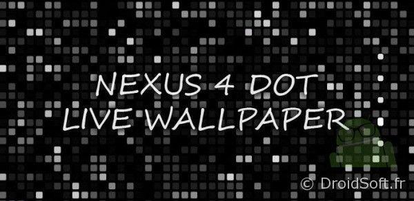 nexus 4 dot wallpaper animated