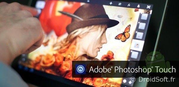Adobe Photoshop Touch, Adobe Photoshop Touch : compatibilité tablettes 7 pouces