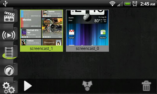 screencast video recorder android