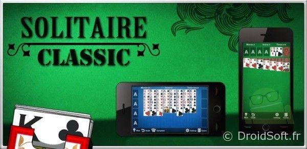 solitaire classic android jeu gratuit