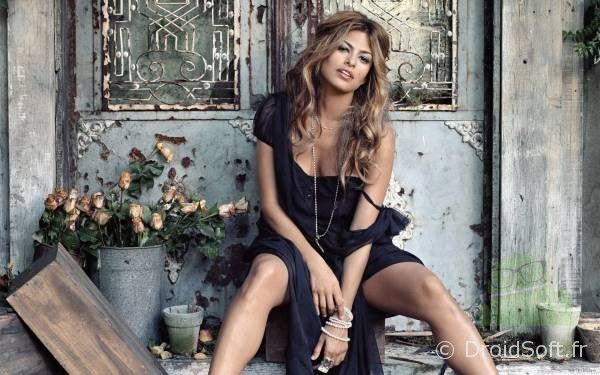 wallpaper android Eva Mendes