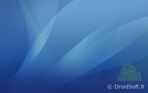 wallpaper android Mac OS X Tiger Blue