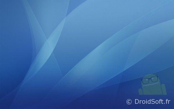 wallpaper android Mac OS X Tiger Blue