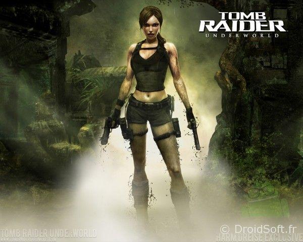 Lara Croft tomb raider wallpaper android