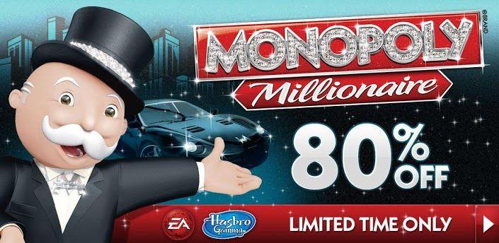 Monopoly Millionnaire, Le bon plan jeu du jour : Monopoly Millionnaire