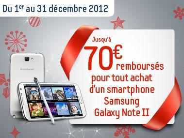 Promo Noel Galaxy Note 2 70e