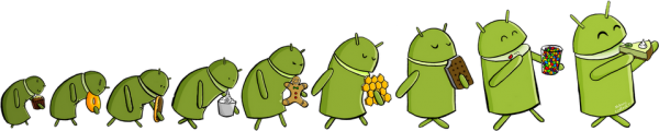 android versions evolution