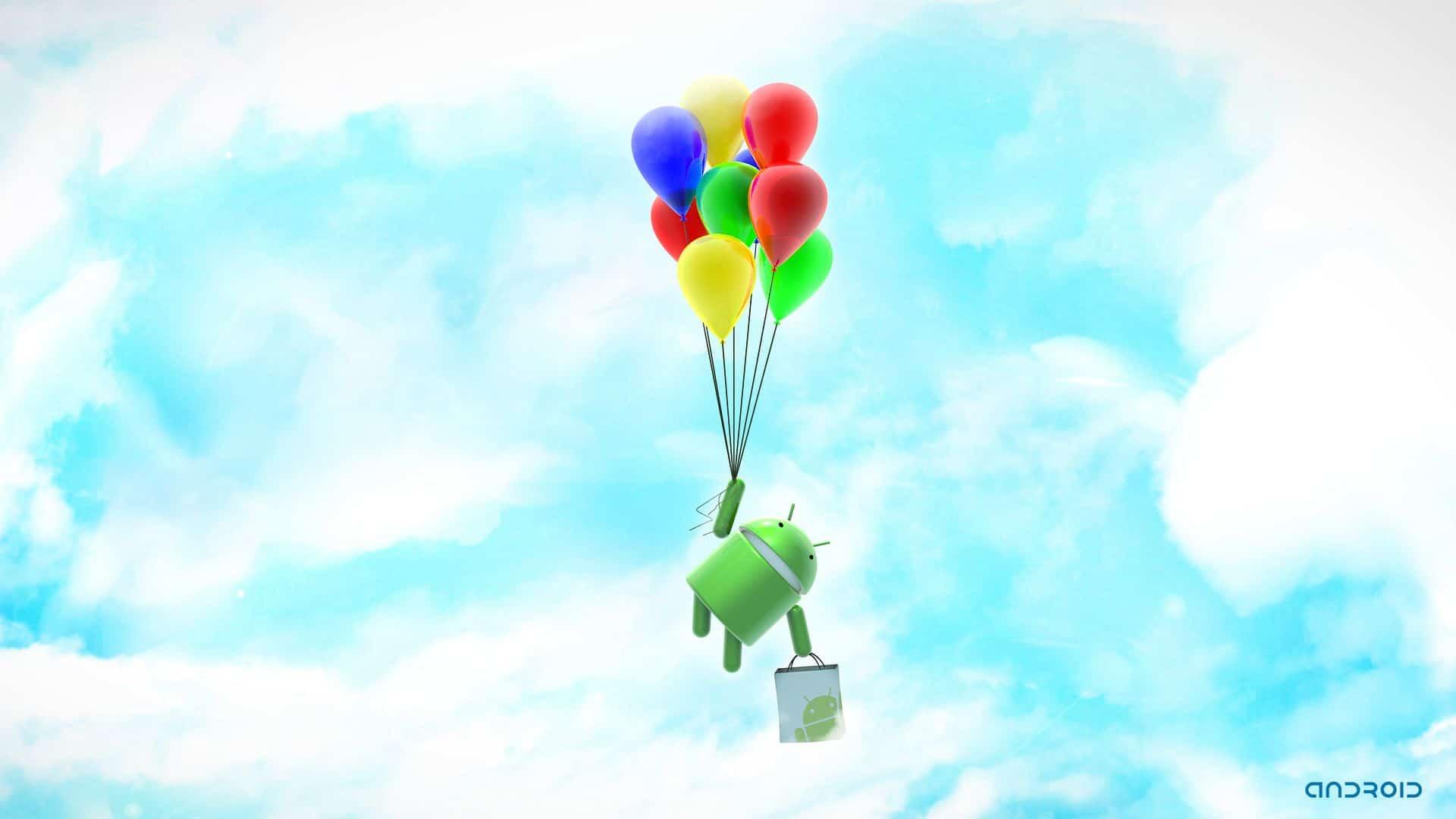 Pubg Wallpaper 1080p For Android: Le Fond D'écran Android Du Jour : Droid Balloons