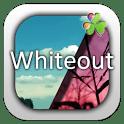 logo Whiteout GO LauncherEX Theme