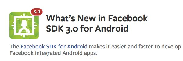 facebook sdk 3.0 android