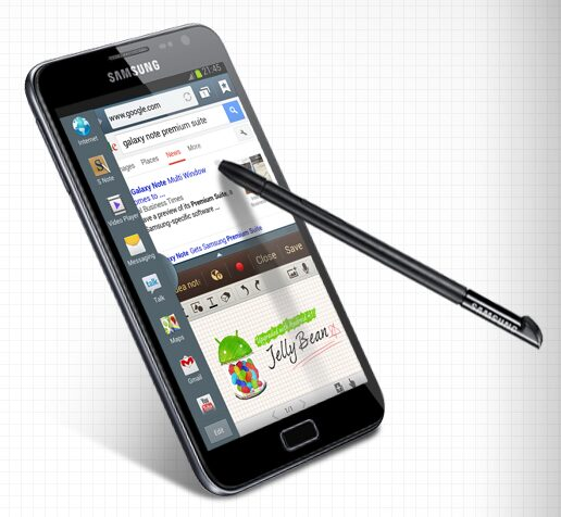 galaxy note samsung jelly bean 4.1