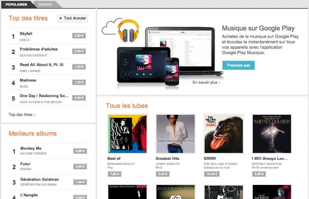 Google Music, Google Music : comment ça marche