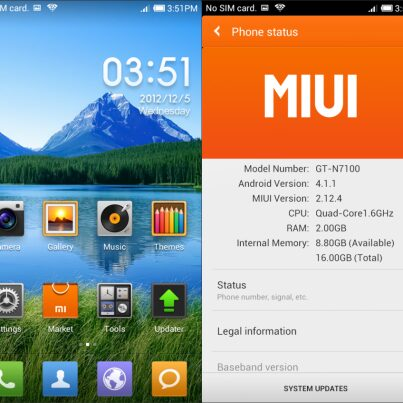 rom custom android miui v4