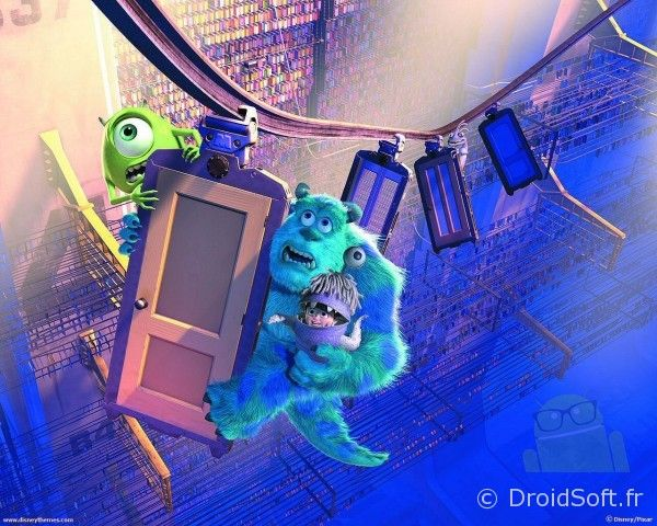 wallpaper android monstres et compagnie