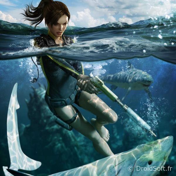 Tomb Rider Wallpaper: Le Fond D'écran Android Du Jour : Lara Croft #2