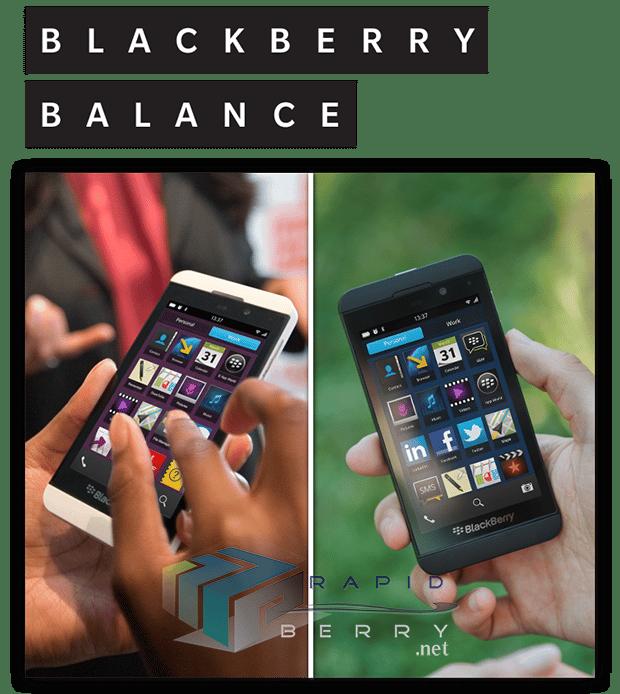 BlackBerry-Balance