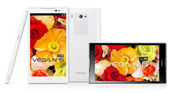 Pantech Vega 6 smartphone Android 5.9 pouces