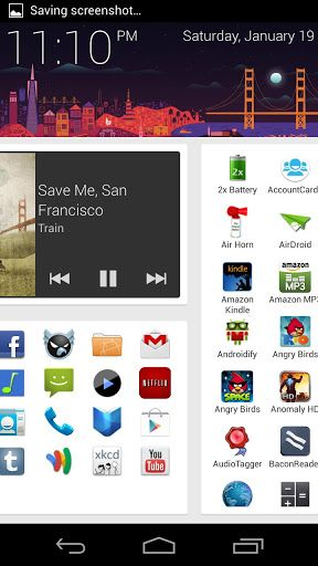 SF Launcher Android app gratuite 2