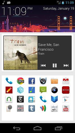 SF Launcher Android app gratuite