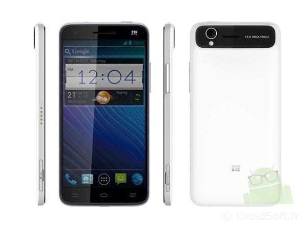 ZTE Grand S smartphone 5 pouces