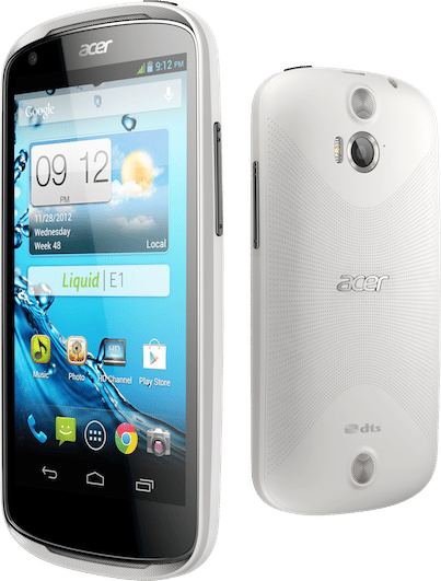 android acer liquid E1 photo