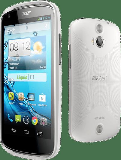 android acer liquid E1 photo