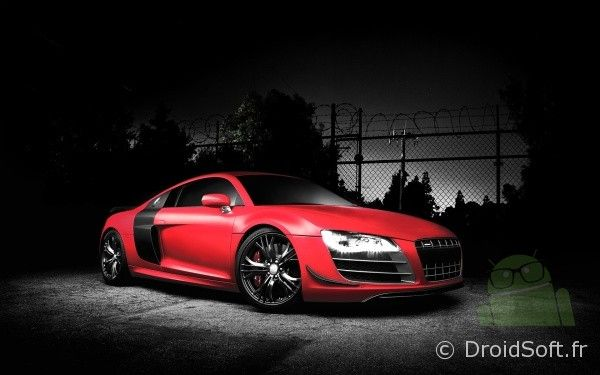 audi r8 gt rouge wallpaper android