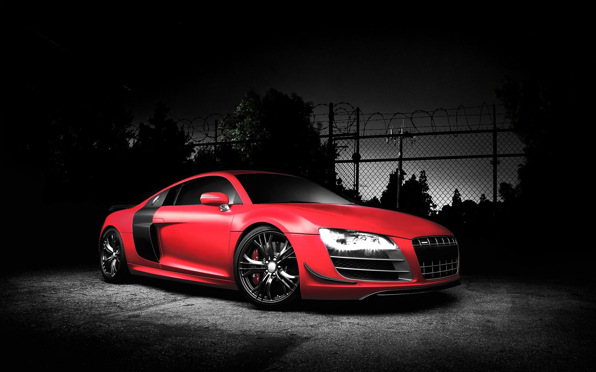 audi r8 gt rouge wallpaper android droidsoft. Black Bedroom Furniture Sets. Home Design Ideas