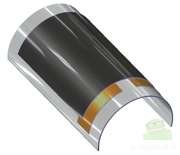 batterie flexible smartphone