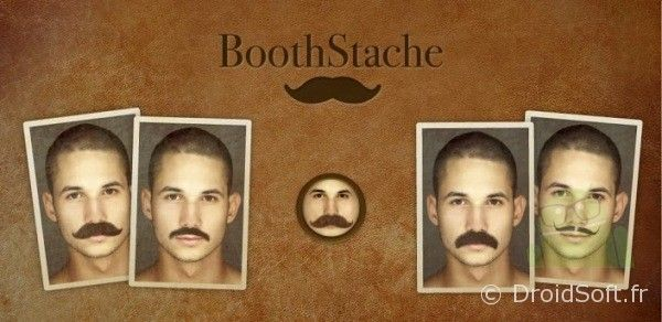 boothstache android app gratuite