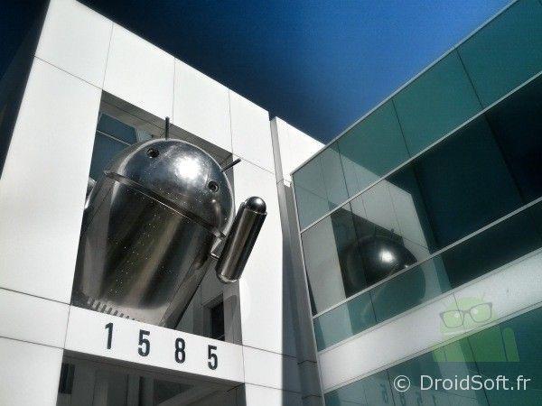 bugdroid chromé Google Android