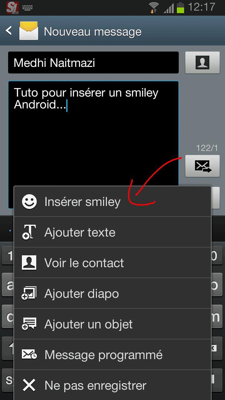 comment afficher les emoticones sur android
