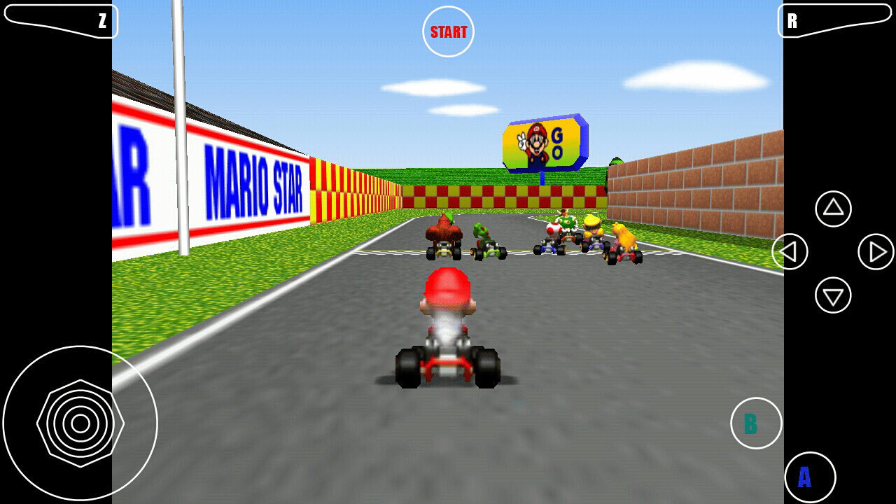 mario kart n64 android