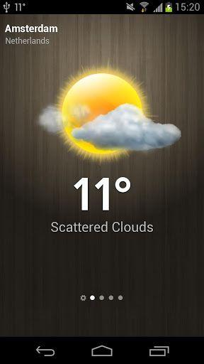 meteo weather app gratuite android