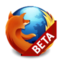 logo Firefox Beta