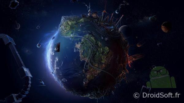 planete futuriste wallpaper android