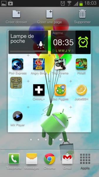 Comment cr er un dossier d 39 apps android - Comment creer une icone sur le bureau ...