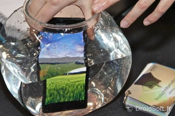 xperia z waterproof android