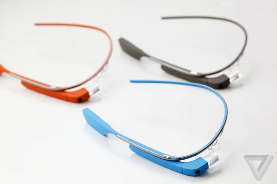 Google Glass couleur