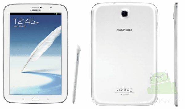 Galaxy Note 8 pouces tablette Samsung