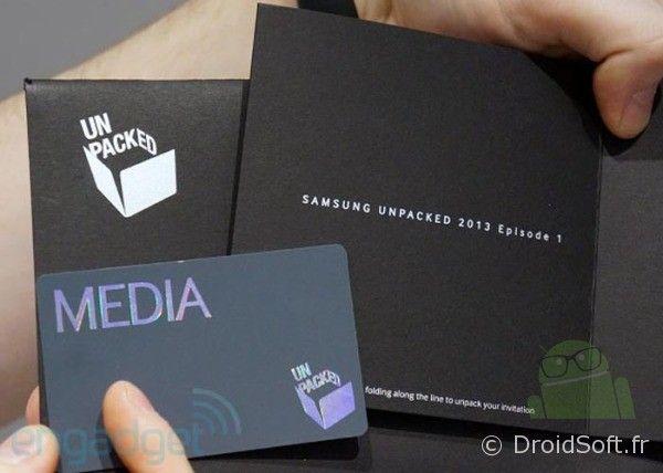 Galaxy S4 invitation
